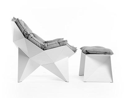 Q1 lounge chair & ottoman