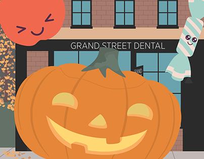 Social Media Animated Ad : Grand Street Dental