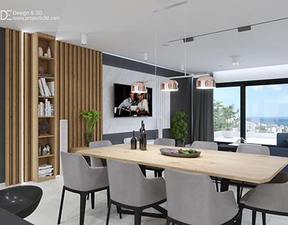 Interior design - private apartment in Varna