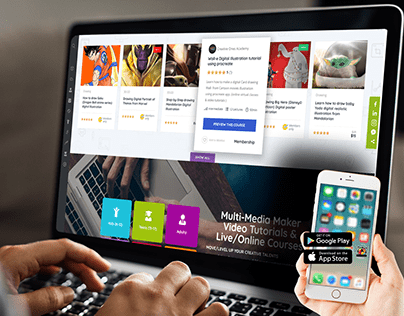 """Learning System Pods LMS """"Web & App Dev Design"""""""