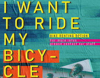 Poster - I WANT TO RIDE MY BICYCLE