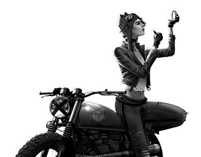 Catwoman - Concept Design