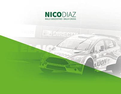 Nico Díaz Rally 2015