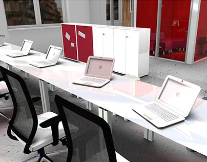 Interior design - Modern office space