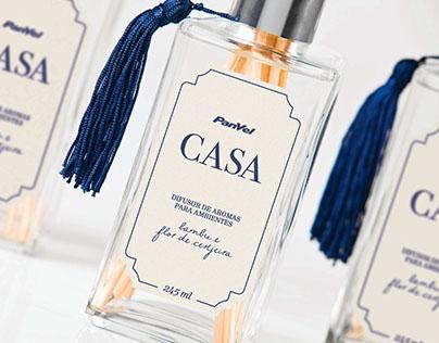 Panvel Casa Home • Fragrance Package Design