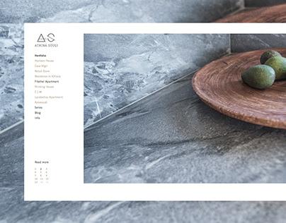 Athina Souli Website Design