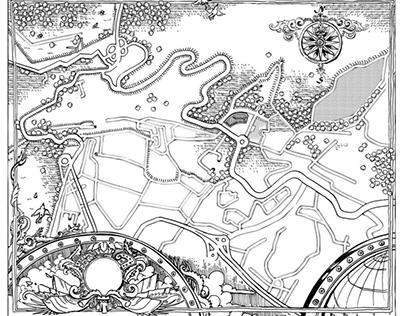 Maps illustration - 2015