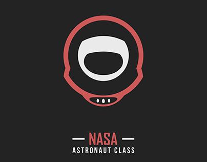 NASA Astronaut Class Logo Design