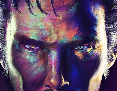 Marvel - Doctor Strange alternative movie poster