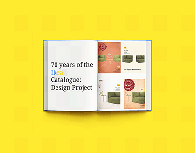 70 years of the Ikea Catalogue: A Design Project