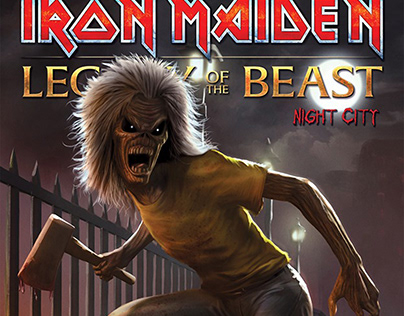Iron Maiden variant Cover