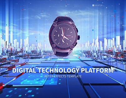 Digital Technology Platform - After Effects Template