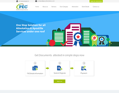 Web Design Client: PEC Attestation And Apostille Servic