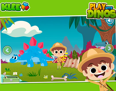 PLAY WITH DINOS - Dinasaurs Game for kids