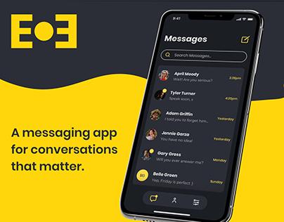 EOE – a messaging app
