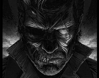 Venom Snake · Metal Gear Solid by Cristian Sánchez