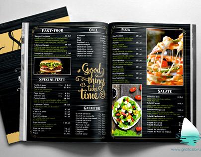 President Bistro restaurant menu.