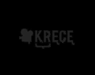 KRĘCĘ logo design