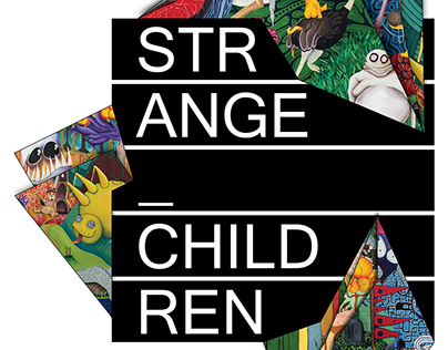 Strange Children Gallery Show Poster