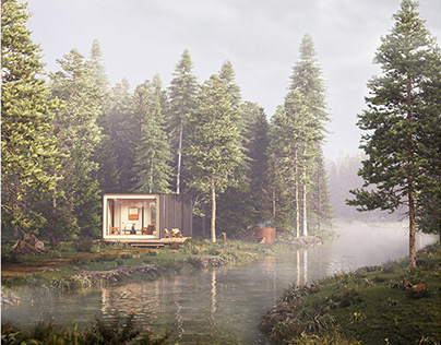 Modular Cabins by Amani Spaces