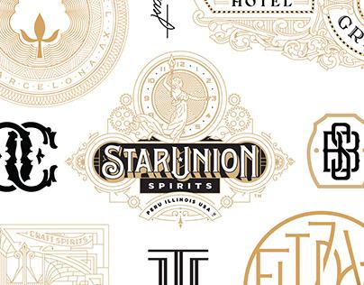 Kevin Cantrell Studio Logos Volume 1