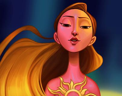 Rapunzel fanart