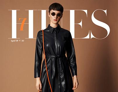 MAGALI Fashion Editorial for 7HuesMag