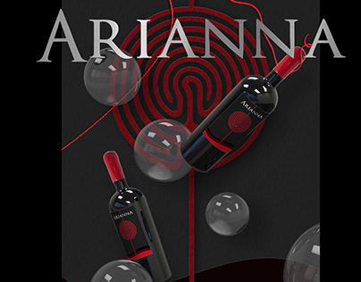 Arianna Wine Bottle