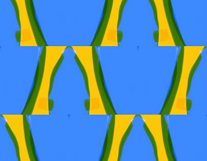 Blue Cactus Patterns