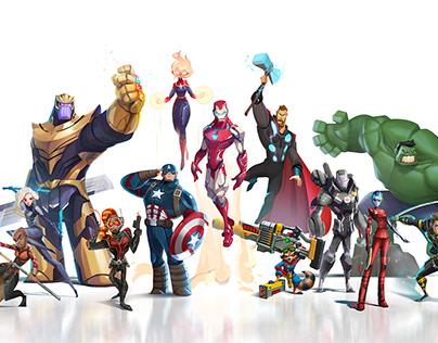 Fanart Avengers Endgame by StudioKun x Dinsai