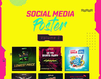 Social Media Poster Volume 1