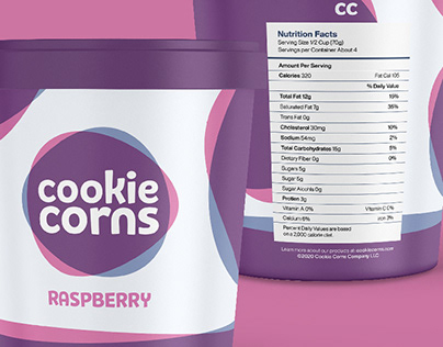 Cookie Corns Ice Cream Identity & Packaging Design