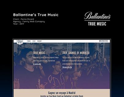 Ballantine's - True Music