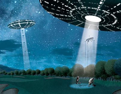 Alien Abduction - Golf Magazine