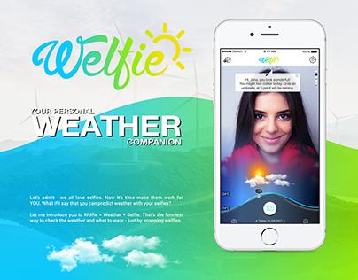 Welfie App - Personal Weather Companion
