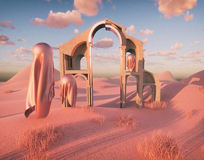 West Gothic - Imaginary Landscape Series -