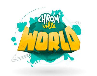 Animación logo Chromville World