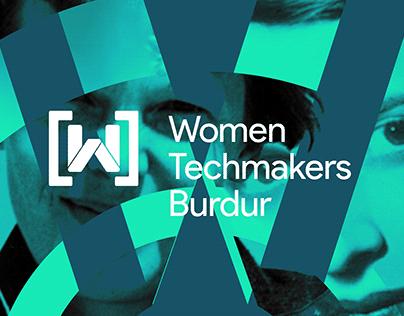 Women Techmakers Burdur Brand Design