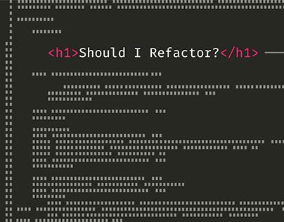Refactor Flowchart