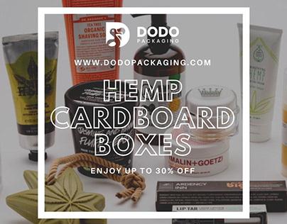Custom Hemp Packaging Boxes | Hemp Milk Boxes
