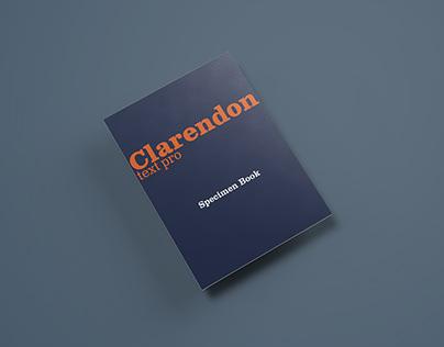 Clarendon Specimen Booklet