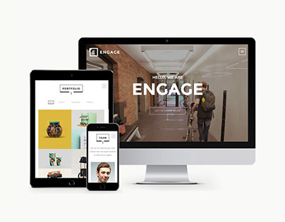 Engage - Creative One Page HTML Theme