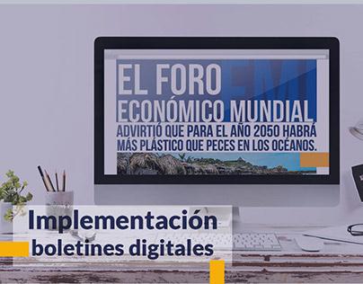 Campaña ambiental para CHANEME COMERCIAL S.A.