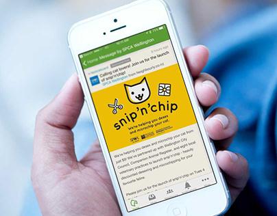 Snip'n'Chip – SPCA Pet Neutering Campaign