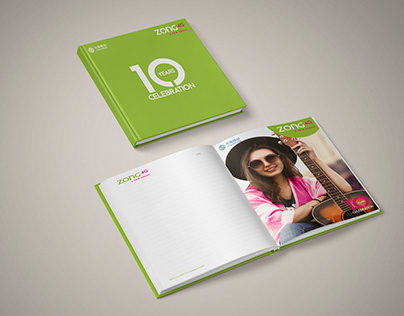Diary Design | Retail Dairy | ZONG 4G A NEW DREAM