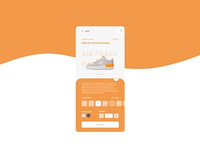 DailyUI#12 | E-Commerce Shop (Single Item)