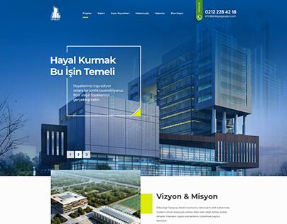 Enkayege Construction Company Web Design