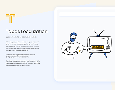 TAPAS. ILLUSTRATIONS AND WEB DESIGN.