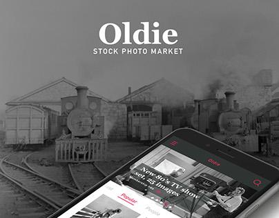 Oldie - Vintage stock photo app