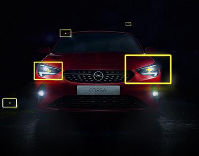 Opel Corsa - Aydınlatır Geceyi